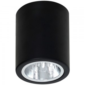 DOWNLIGHT round black 7235
